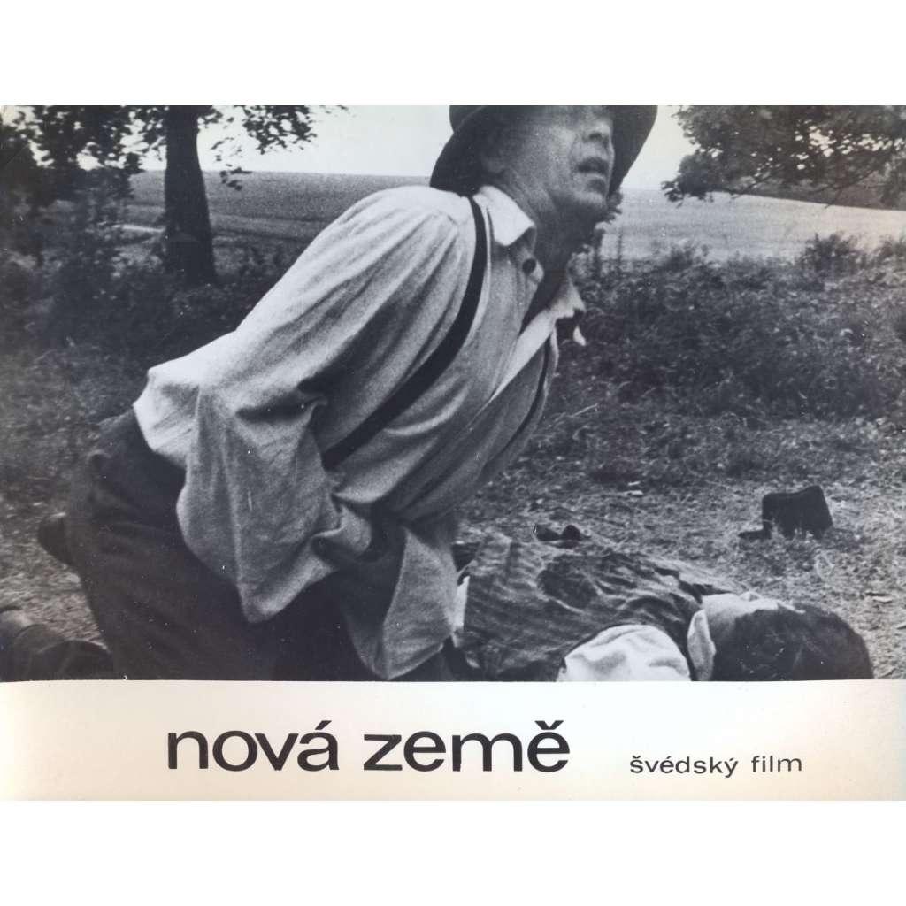 Fotoska - film Nová země (Jan Troell, Max von Sydow, Liv Ullmann)