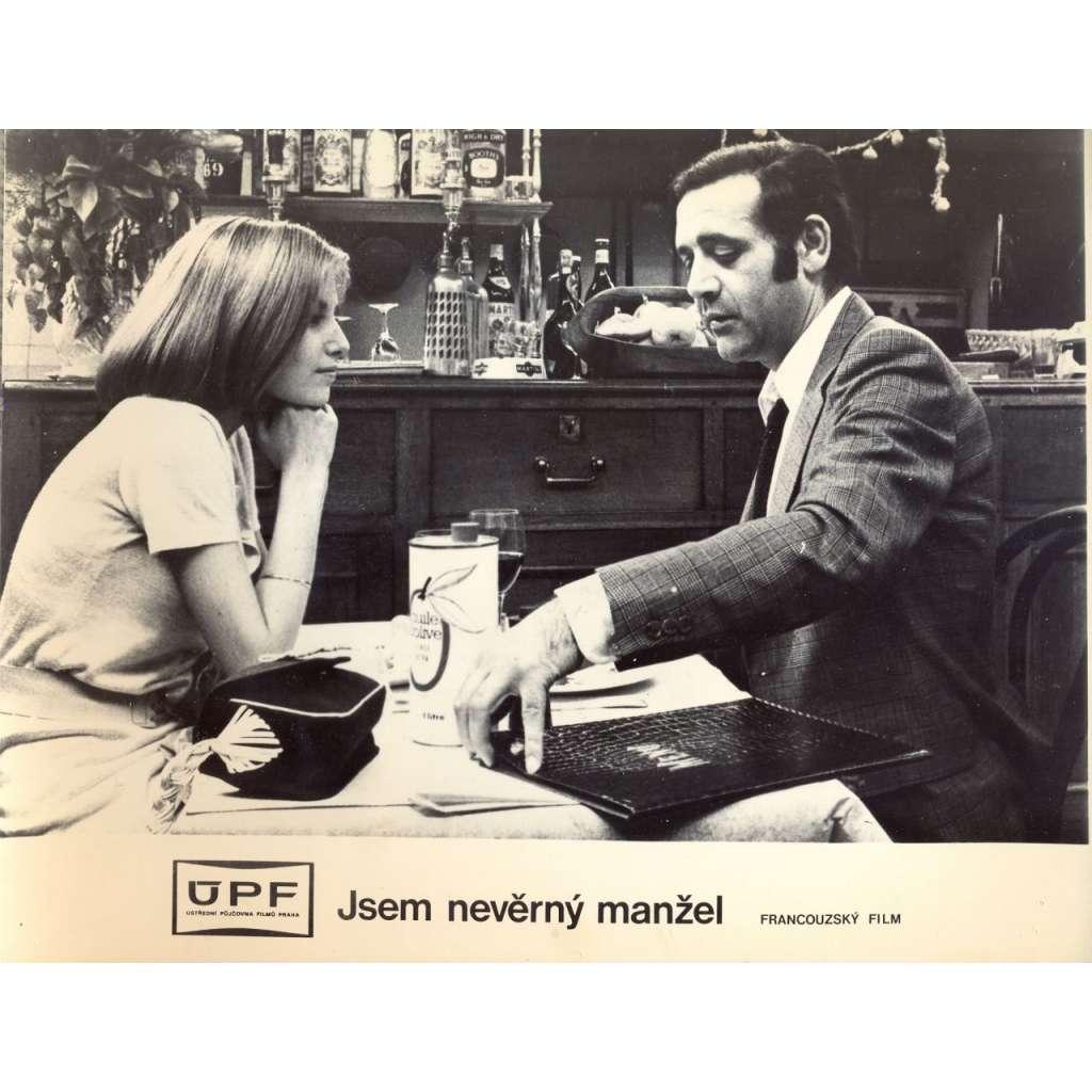 Fotoska - film Jsem nevěrný manžel (J. Aurel, F. Fabian)