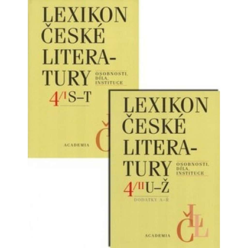 Lexikon české literatury 4/I., II. (S-Ž)