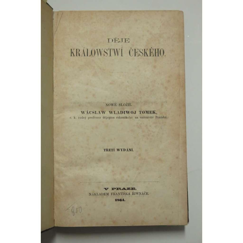 Děje Království českého - III. vydání