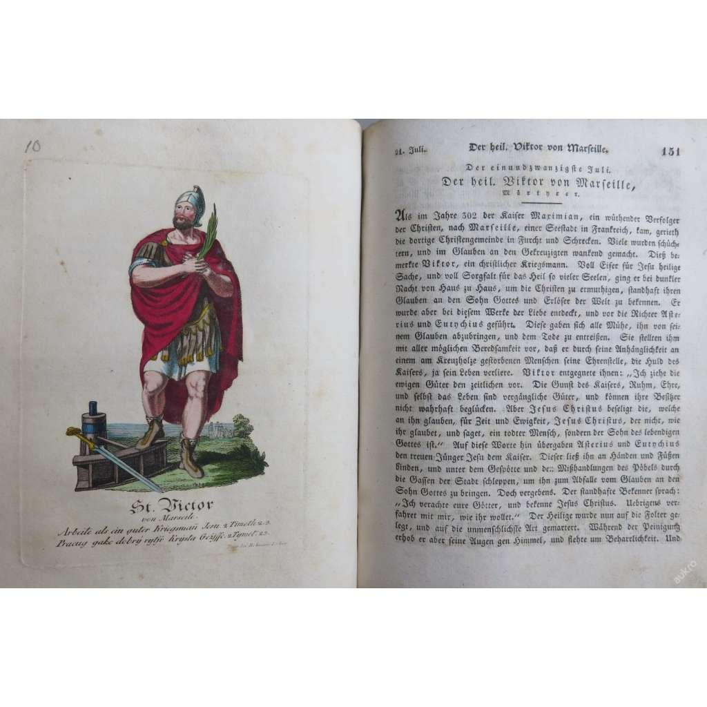 LEGENDY O SVATÝCH + Sada 210 mědirytin světců 1836