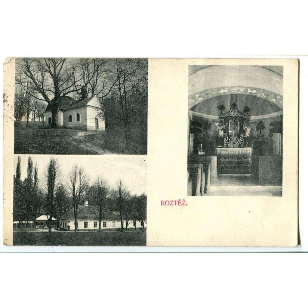 Roztěž, pošta Malešov , Kutná Hora