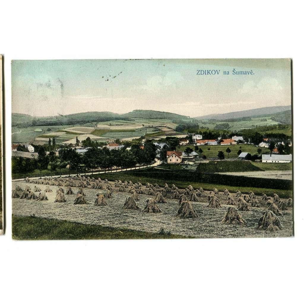 Zdíkov, Prachatice, Šumava.