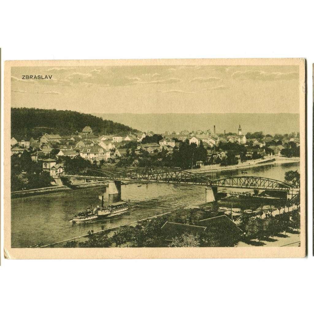 Praha Zbraslav, Vltava, parník