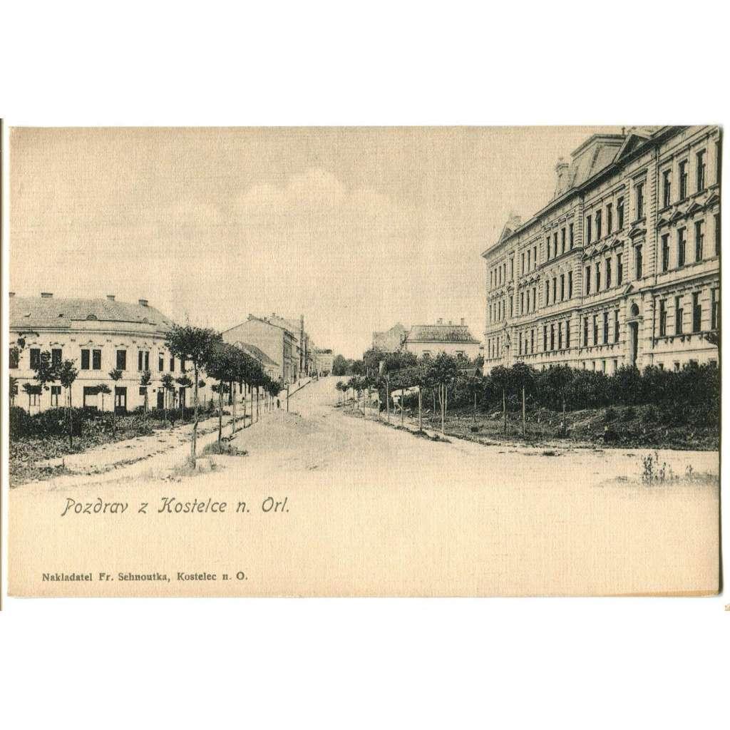 Kostelec nad Orlicí, Rychnov nad Kněžnou