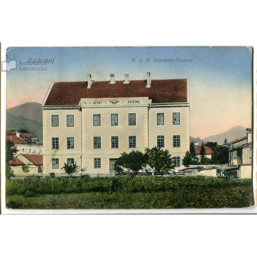 Villabassa Niederdorf, Kaserne, Kasárny Tyrol, Italy Itálie