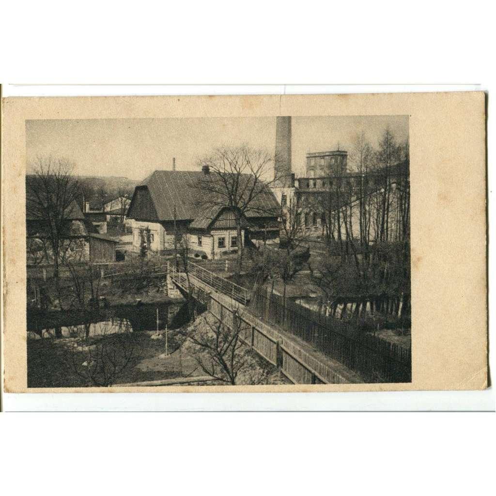 Hronov, Náchod, továrna