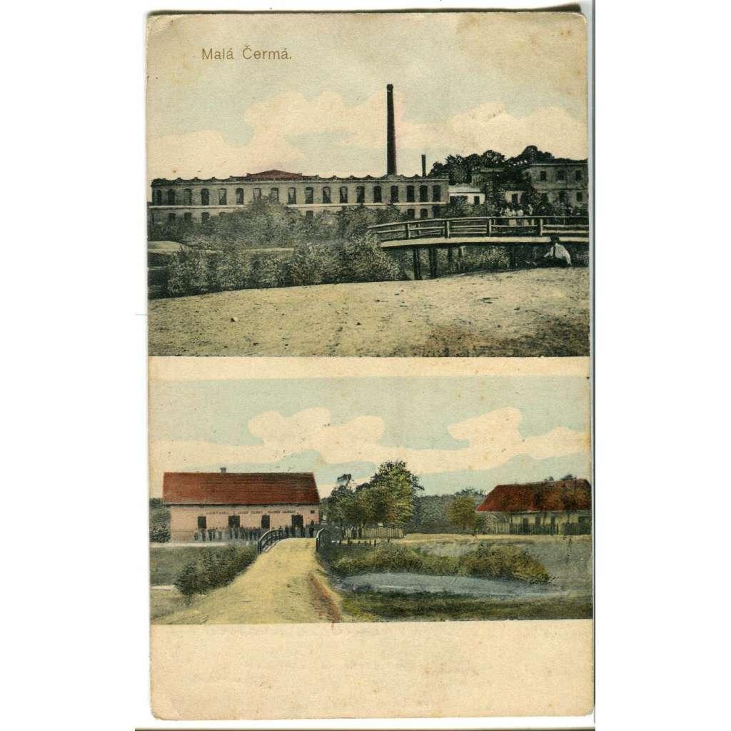 Malá Čermná nad Orlicí, Rychnov nad Kněžnou,, továrna