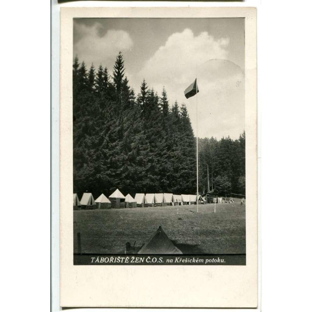 Křešický potok, tábor, Divišov či Český Šternberk, Benešov