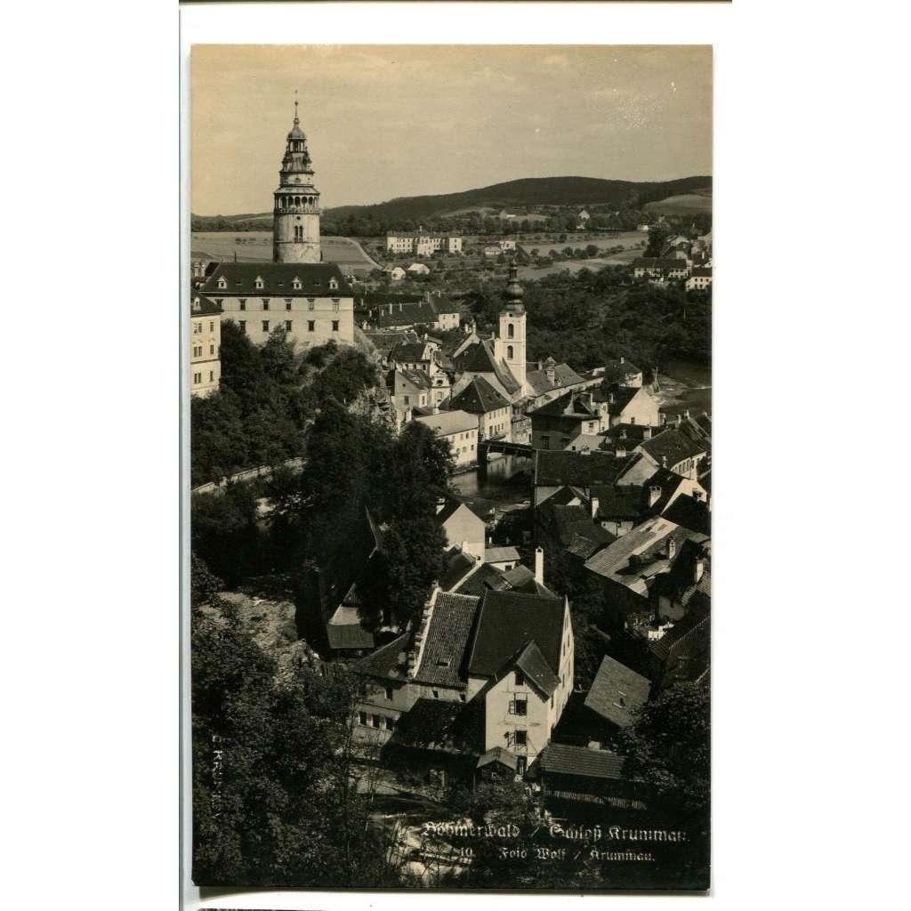 Český Krumlov, Šumava