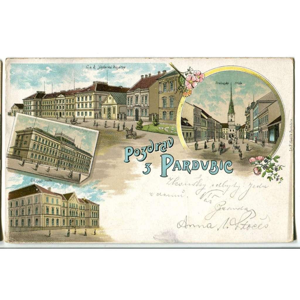 Pardubice litografie