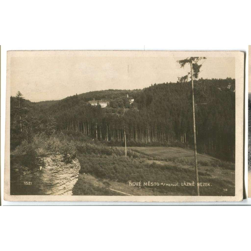 Nové Město nad Metují, Náchod, Lázně Rezek