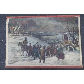 Vzbouření selského lidu před rtyňskou rychtou - školní plakát