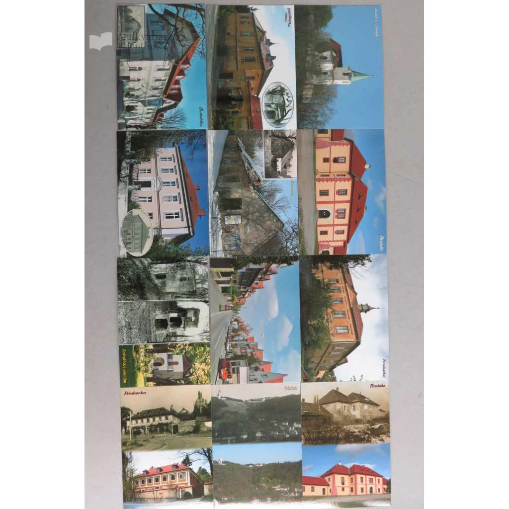 Sada 12 pohlednic - Dejvice - Hanspaulka (sada č. 2)