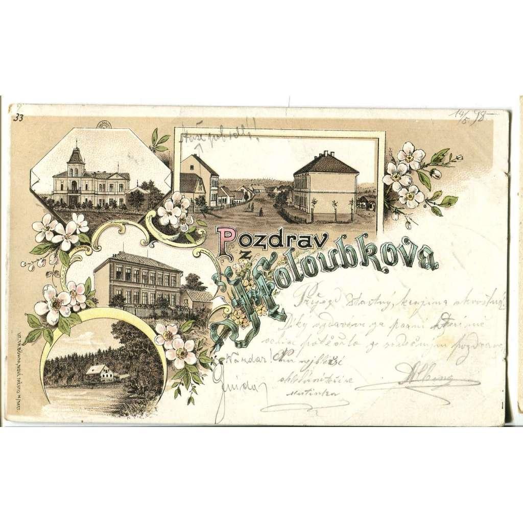 Holoubkov, Rokycany, litografie