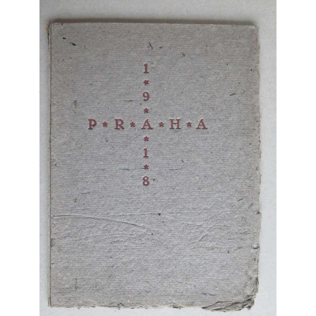 Kalendárium staré Prahy. Čtvero pražských dřevorytů