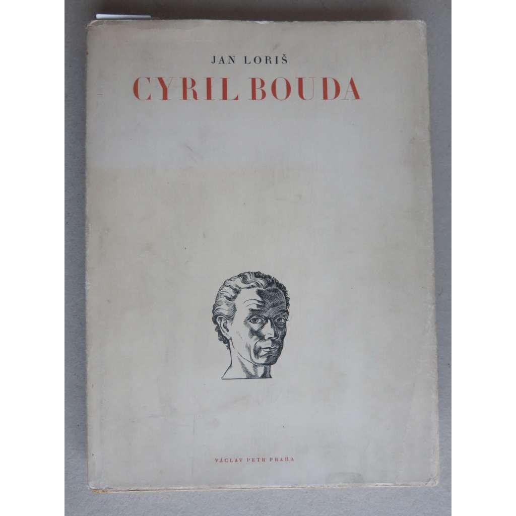 Cyril Bouda - monografie (2 x grafika)