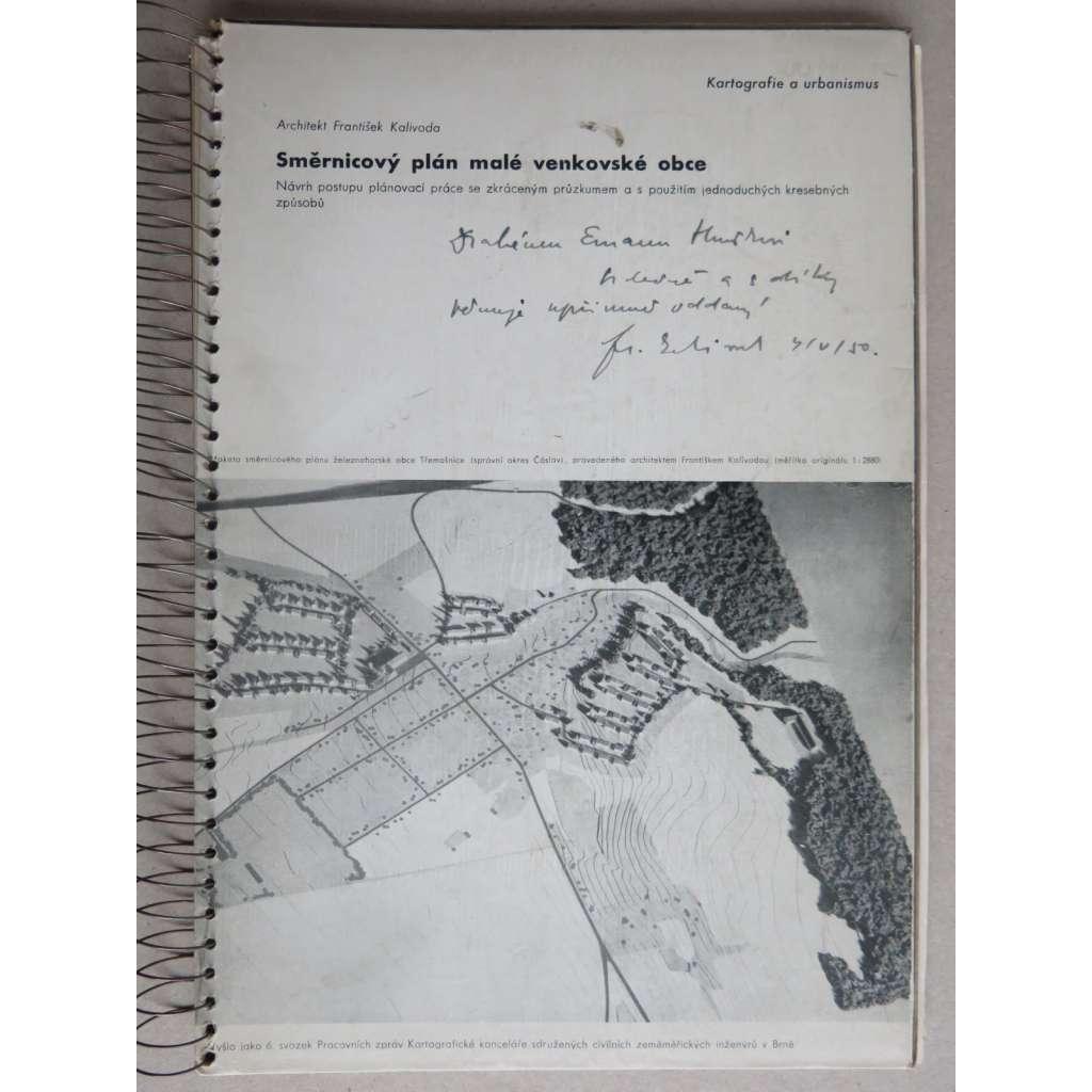 Směrnicový plán malé venkovské obce (nekompletní)