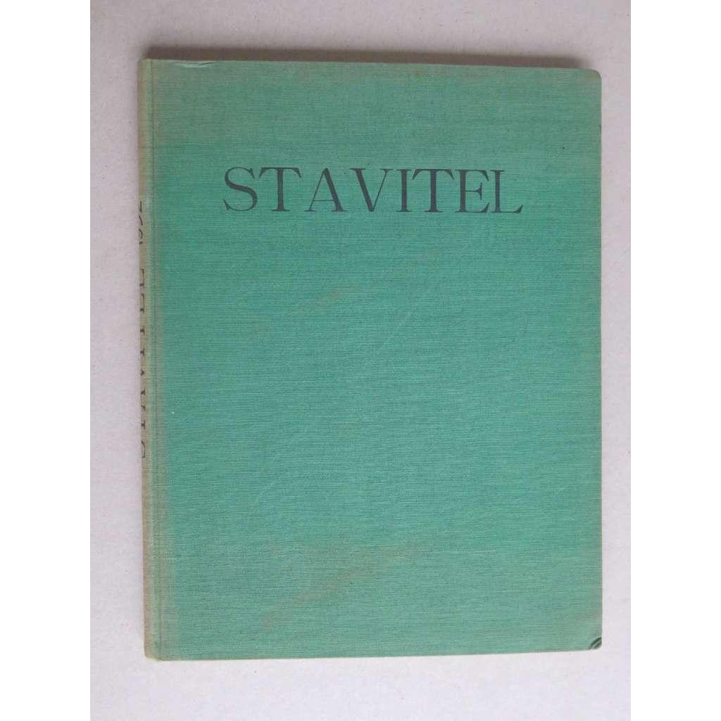 Stavitel, měsíčník pro architekturu, ročník XIII., 1932 (časopis, moderní architektura)