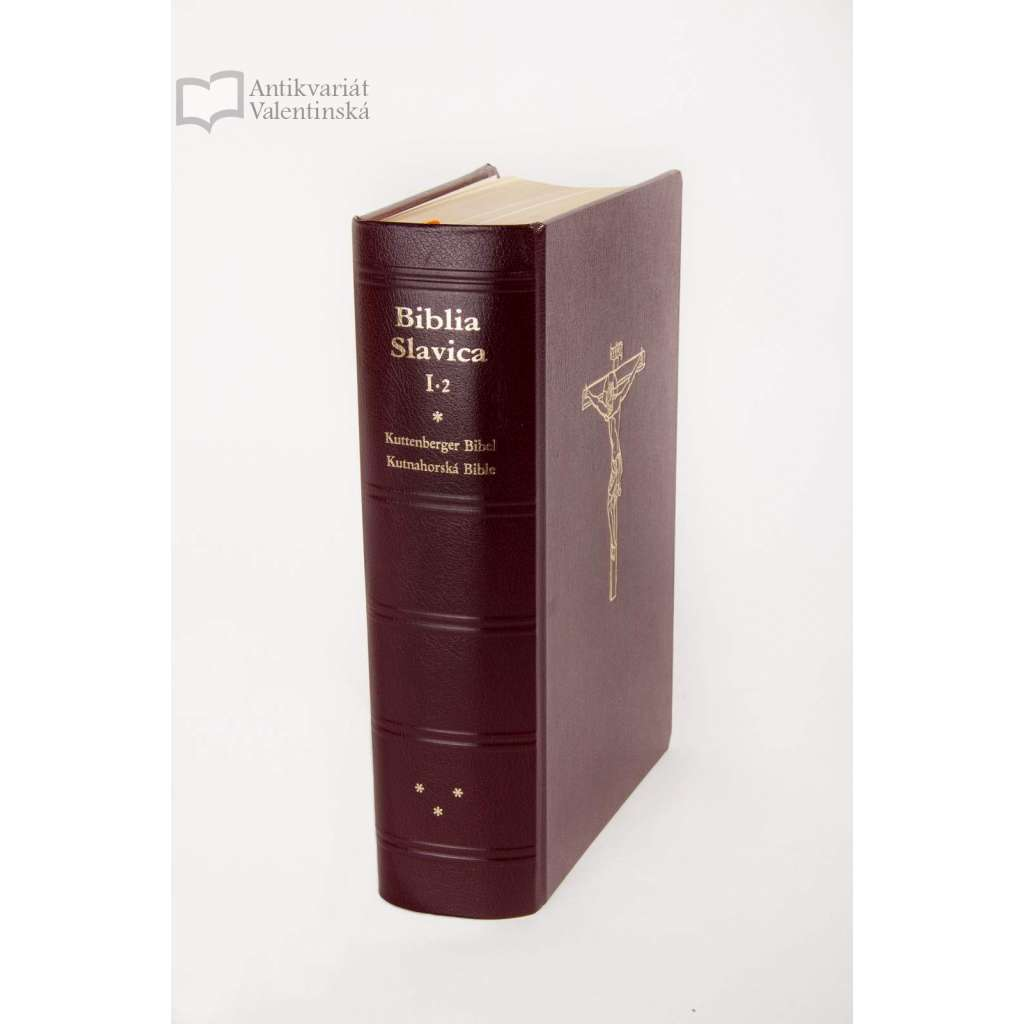 Bible kutnohorská - (faksimile) - Biblia Slavica, Tschechische Bibeln, Bd. 2, Kuttenberger Bibel - Kutnahorská bible
