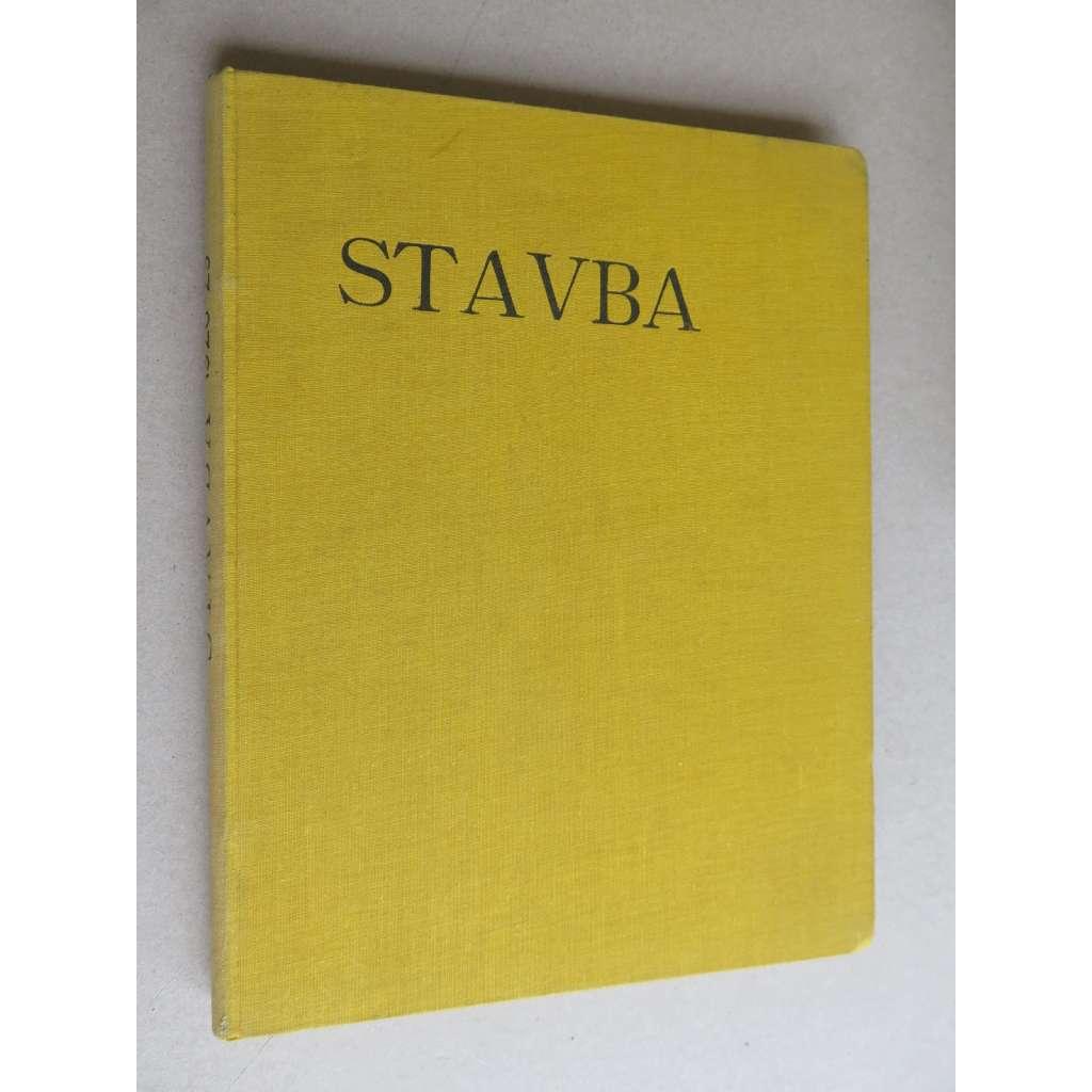Stavba, měsíčník pro stavební umění, ročník VII., 1928-1929 (časopis - moderní architektura)