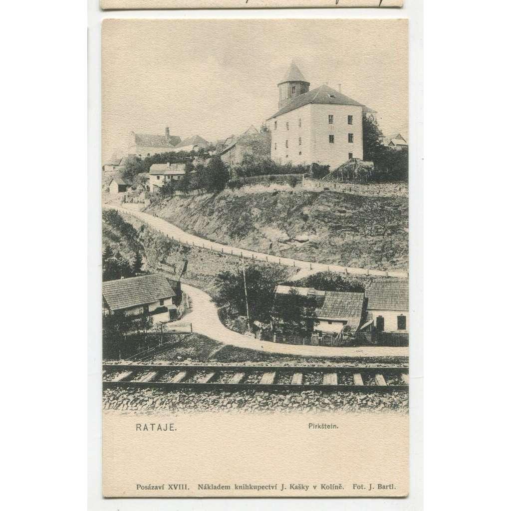 Rataje nad Sázavou, Kutná Hora, železnice