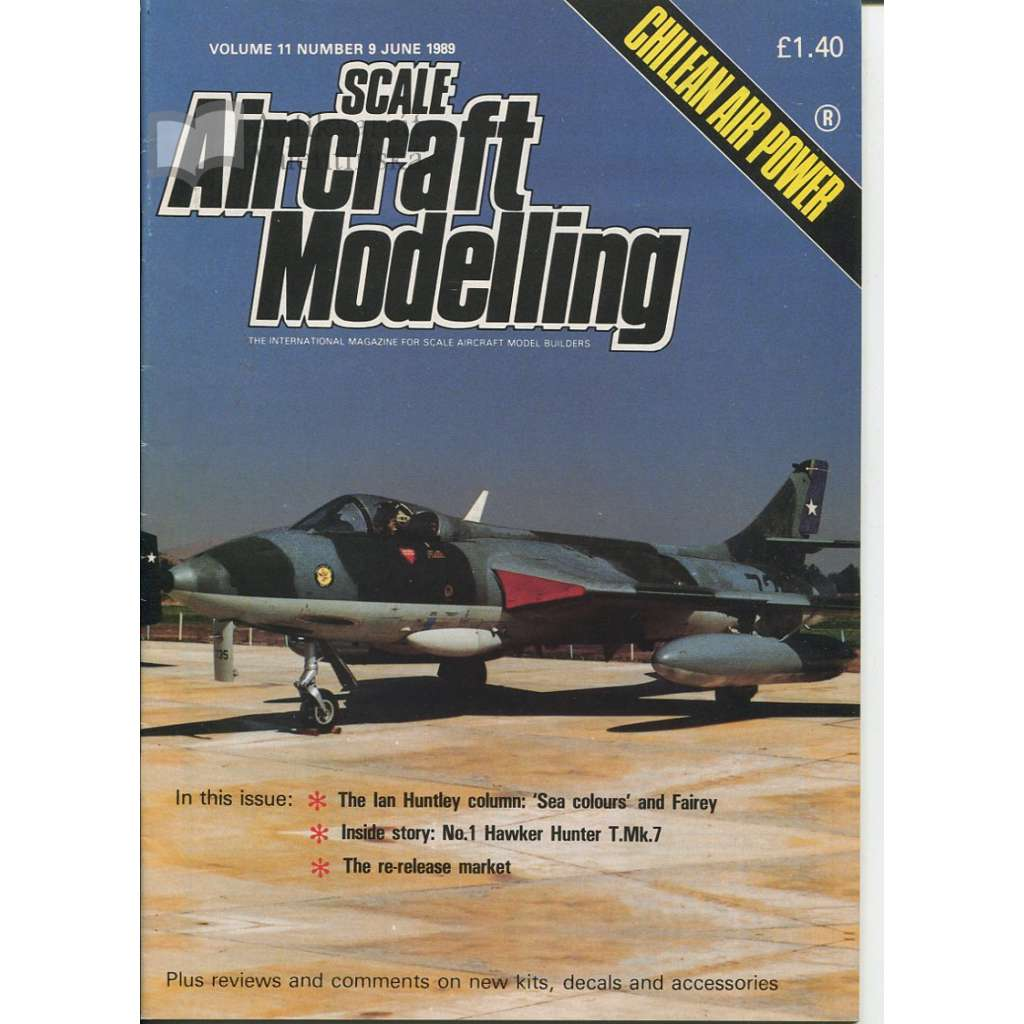 Scale Aircraft Modelling (časopis o letectví) - Vol. 11, No. 9 - 1989