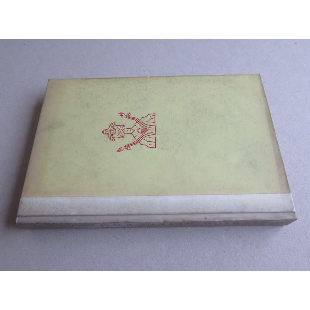 Romancero (ilustrace Konůpek) - pergamenová vazba