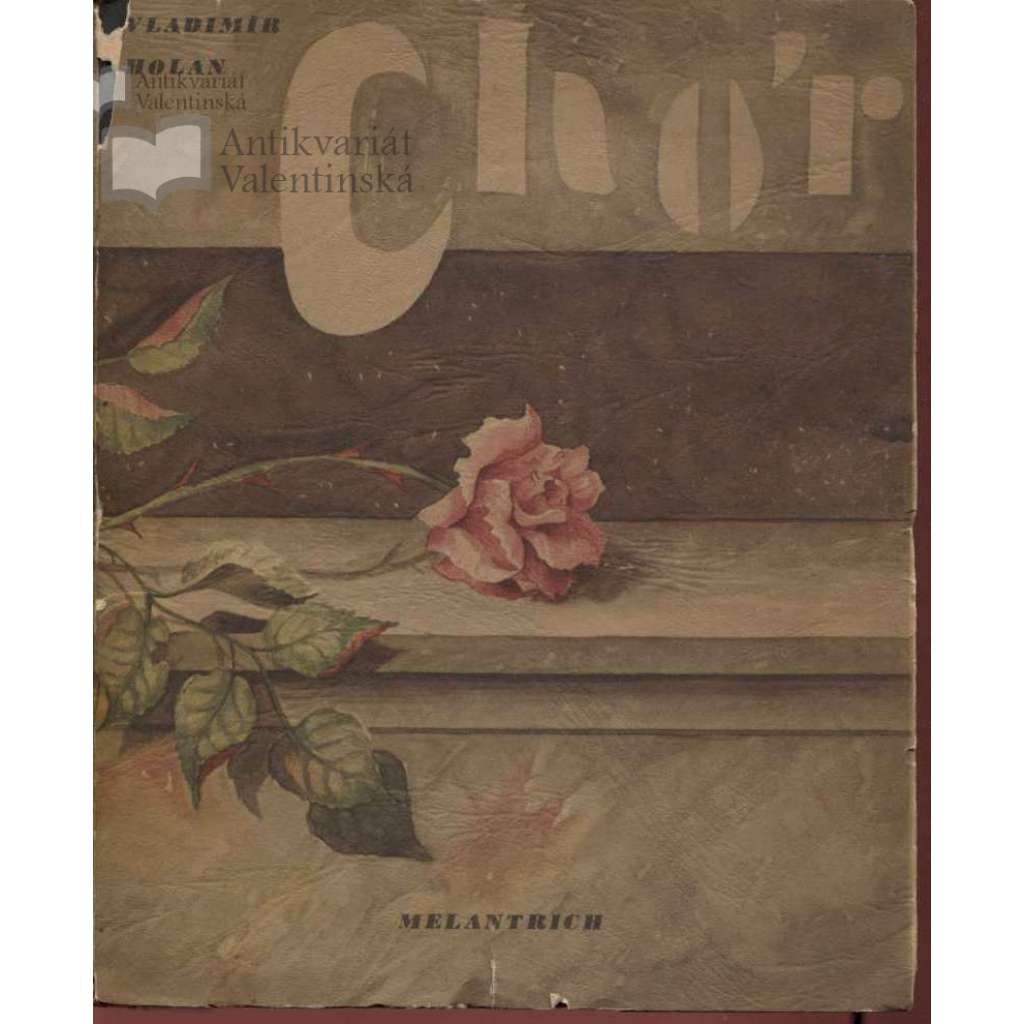Chór (ilustrace a podpis Alois Wachsman) + (podpis Vladimír Holan)
