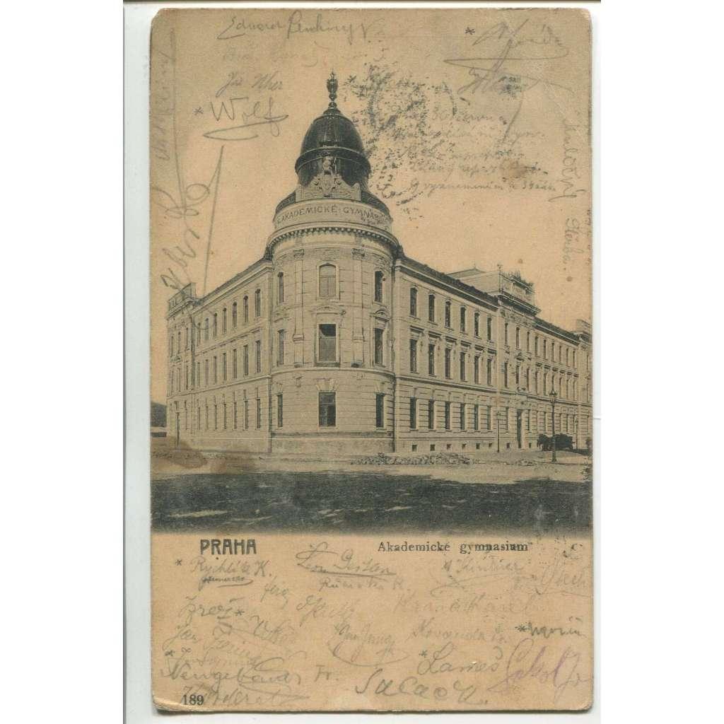 Praha, škola, Akademické gymnázium