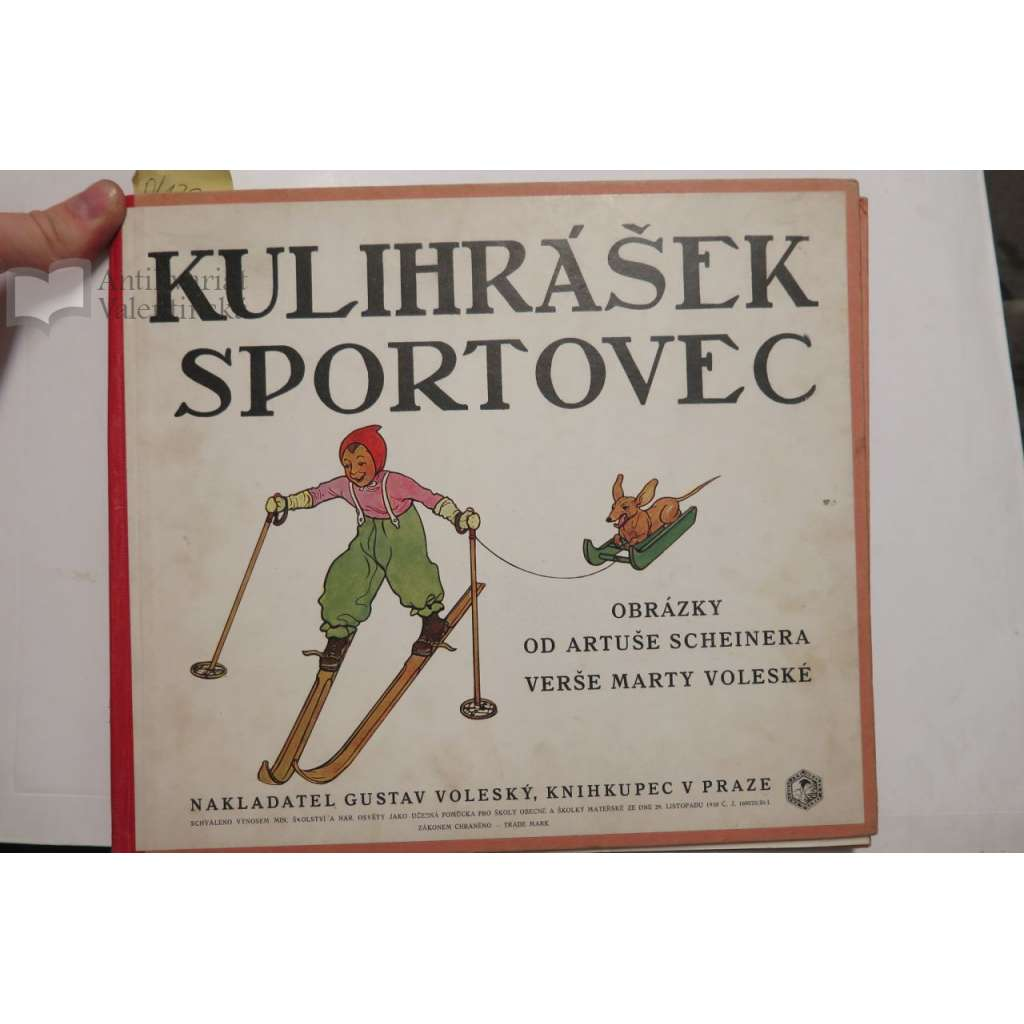 Kulihrášek sportovec