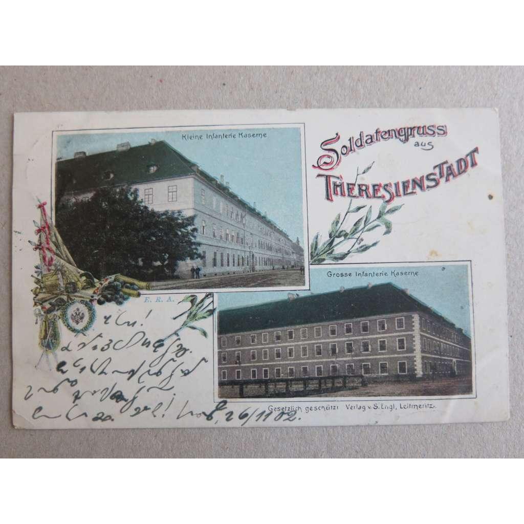 Terezín, Litoměřice Theresienstadt, kasárna