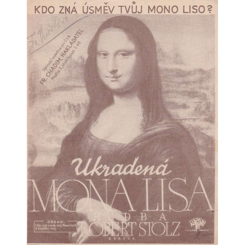 Kdo zná úsměv tvůj, Mono Liso?