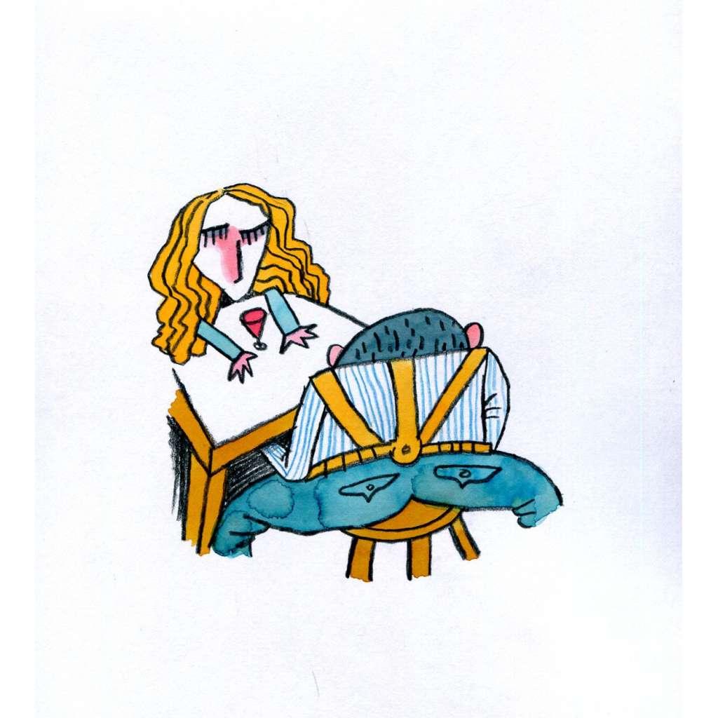 U stolu