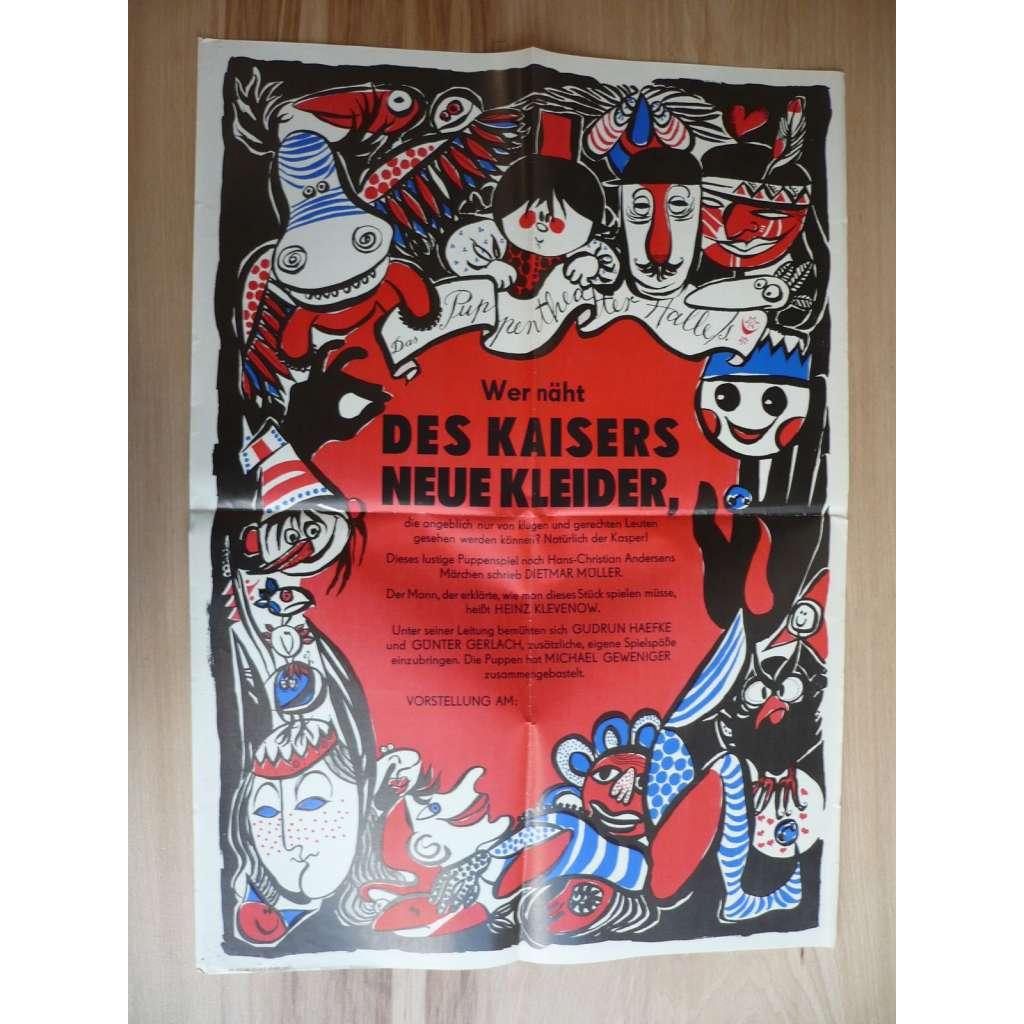 Des Kaisers Neue Kleider (plakát, Německo, loutky)