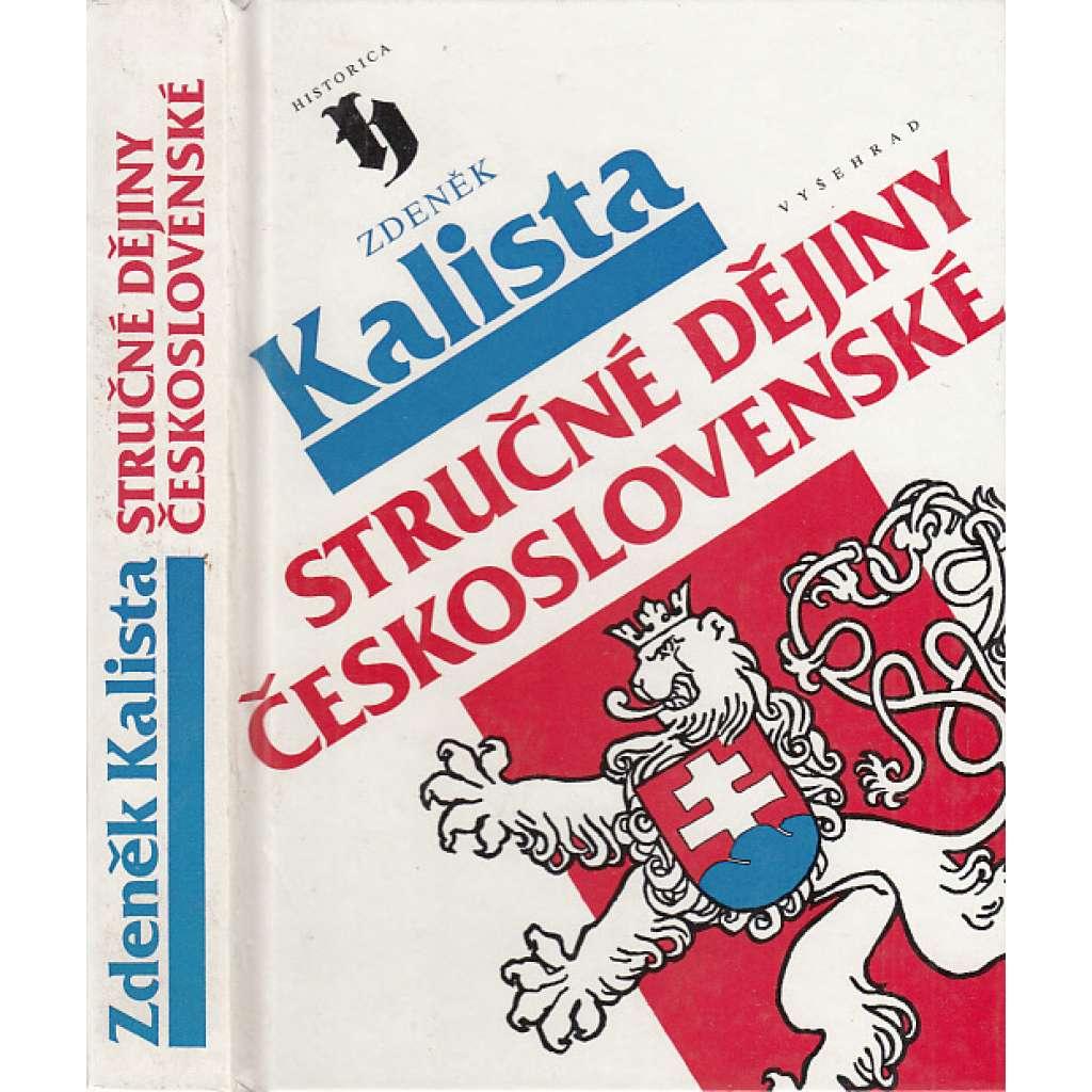 Stručné dějiny československé (České - dějiny Čech)