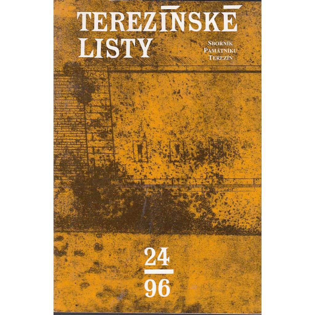 Terezínské listy 24/1996