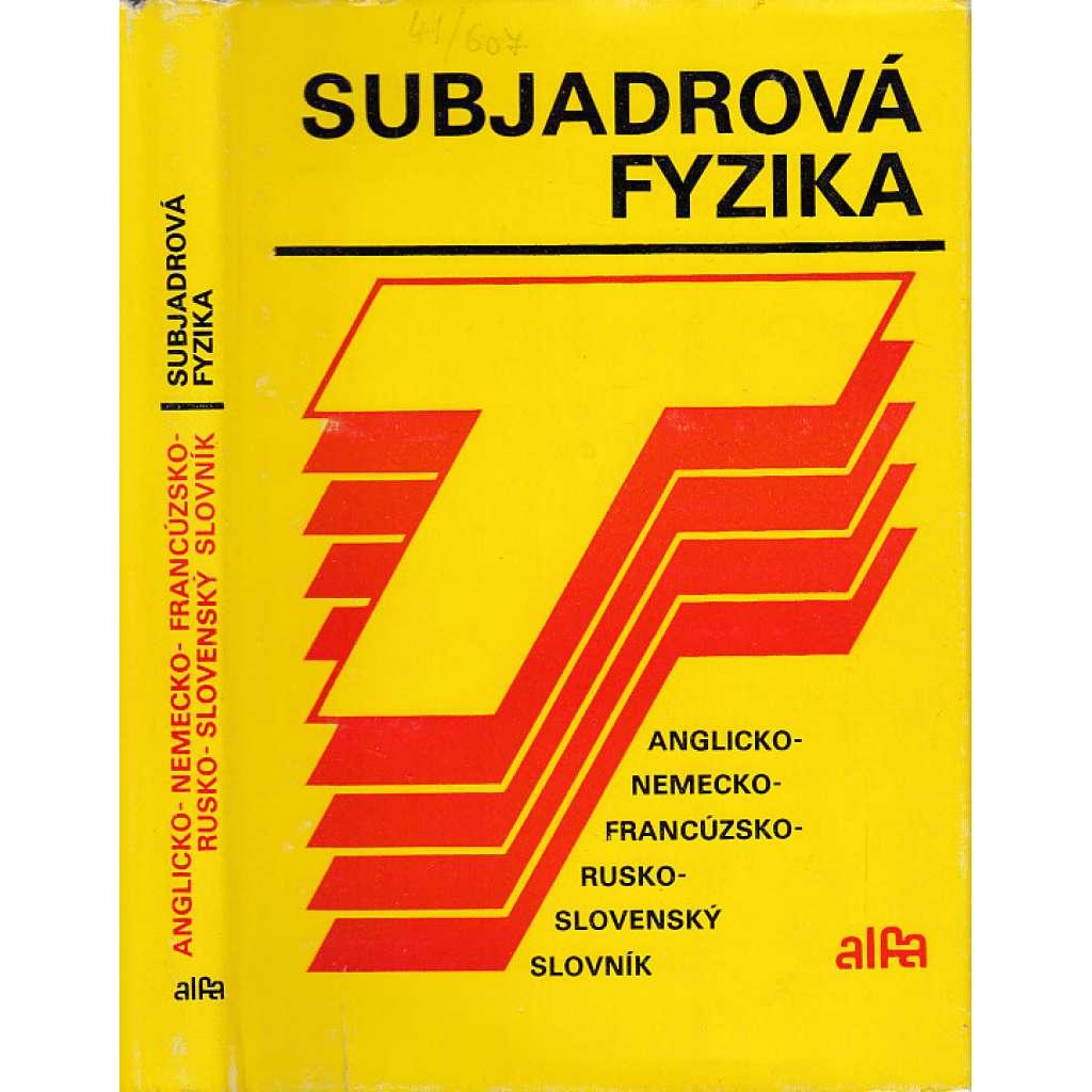 Subjadrová fyzika