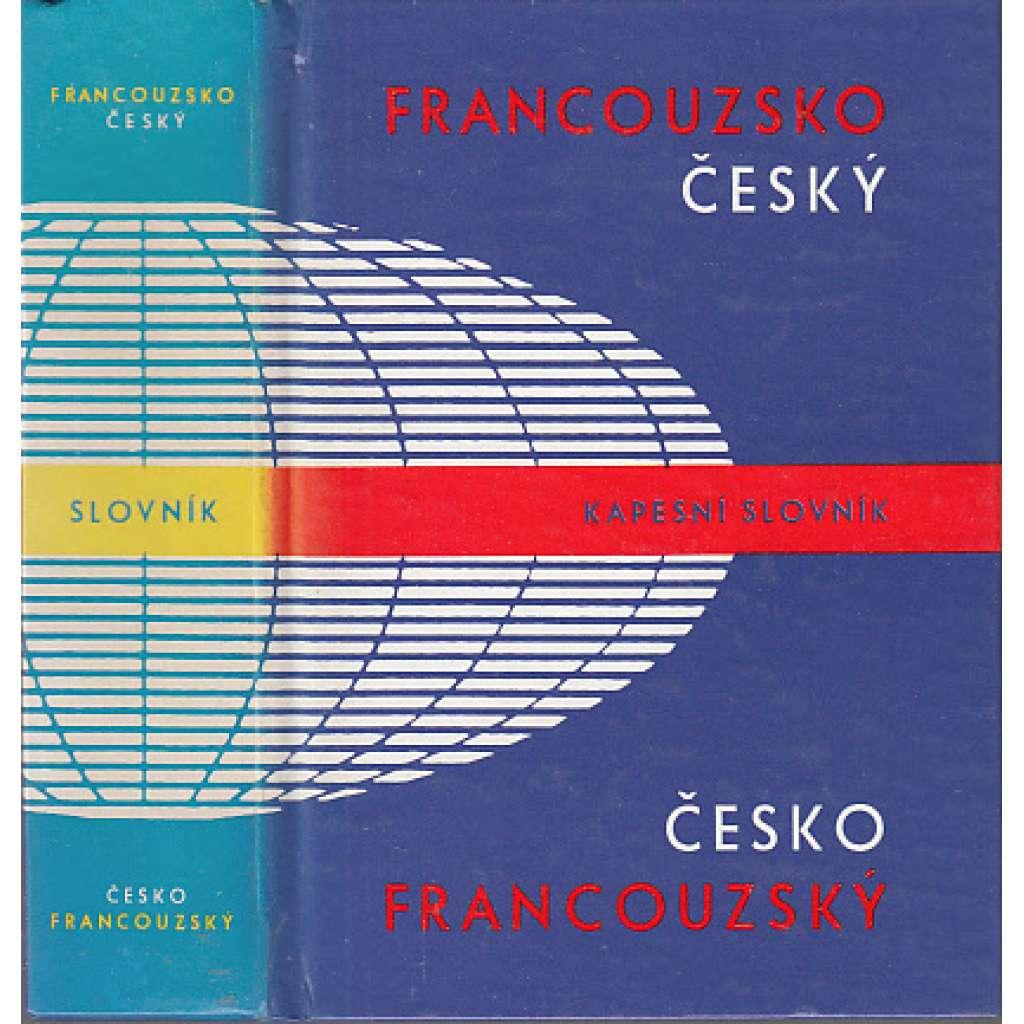 Francouzsko-český, česko-francouzský kapesní slovník