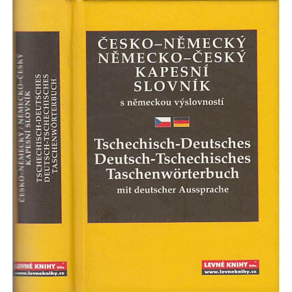 Česko-německý / Německo-český kapesní slovník s německou výslovností