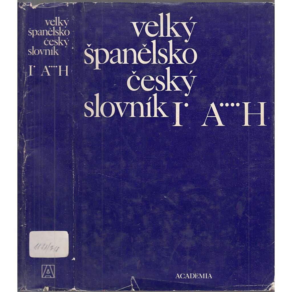 Velký španělsko-český slovník, 2 svazky