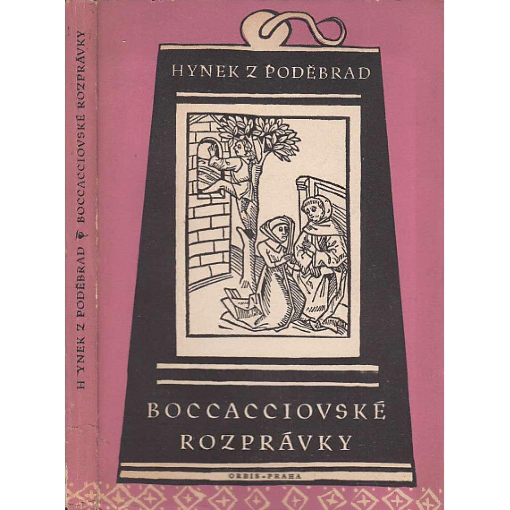 Boccacciovské rozprávky (edice Památky staré literatury české)