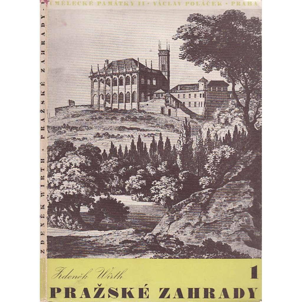 Pražské zahrady 1 a 2 (2 svazky)