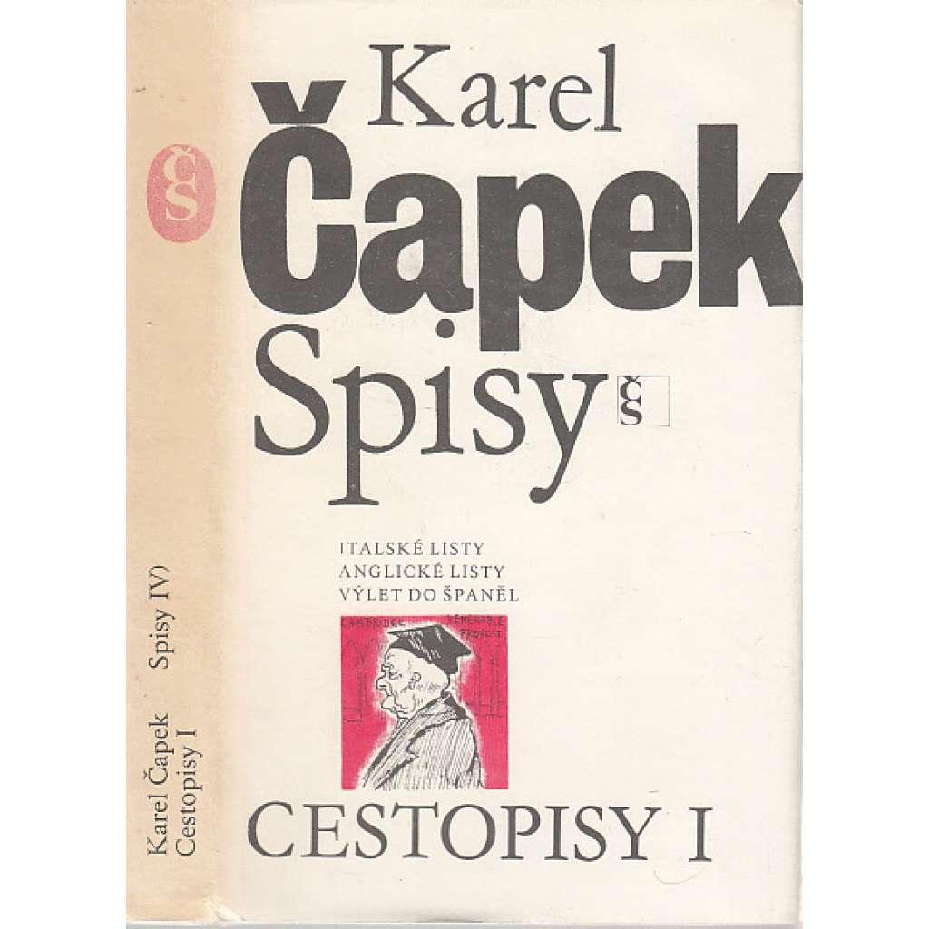 Cestopisy I (Spisy Karla Čapka)