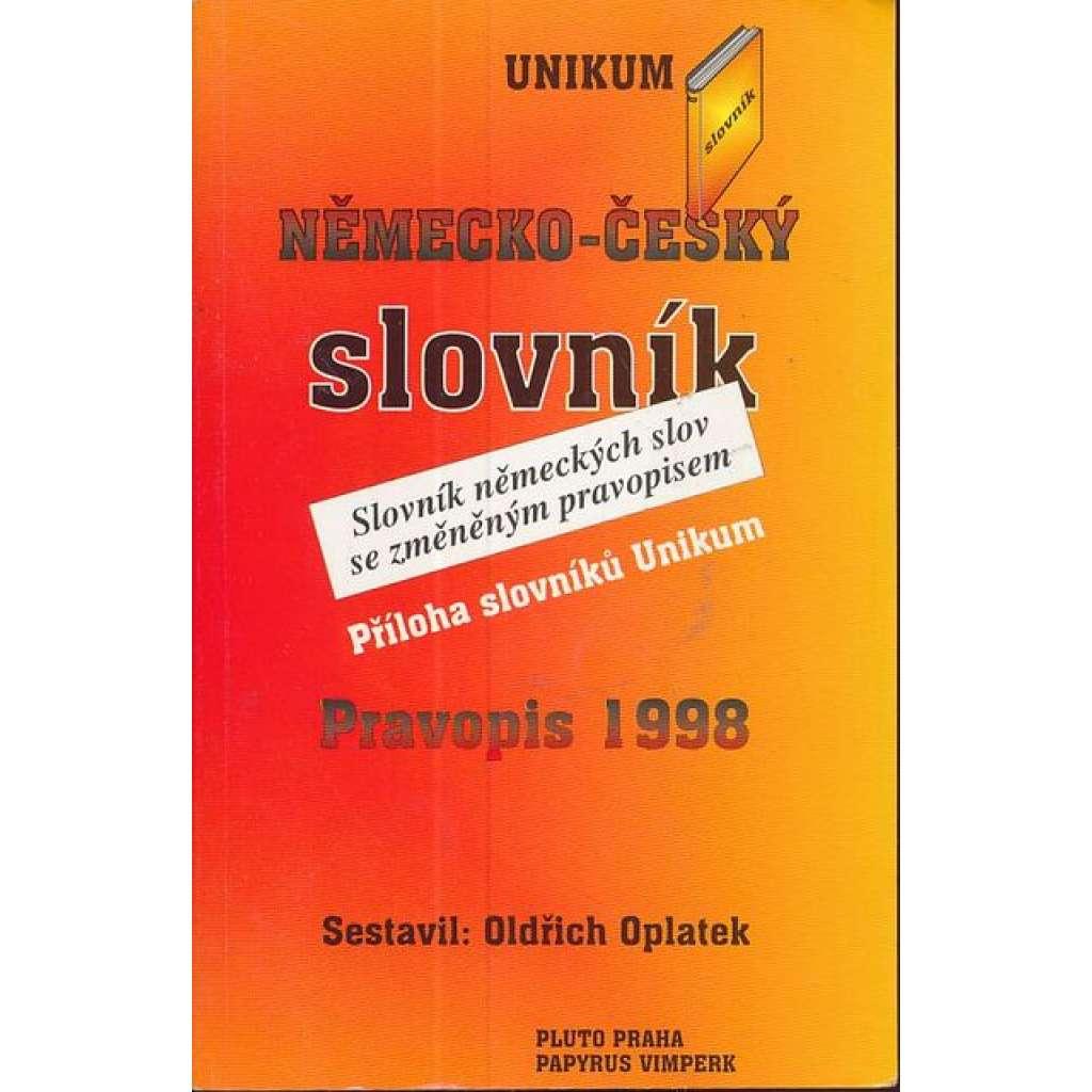 Německo-český slovník. Pravopis 1998