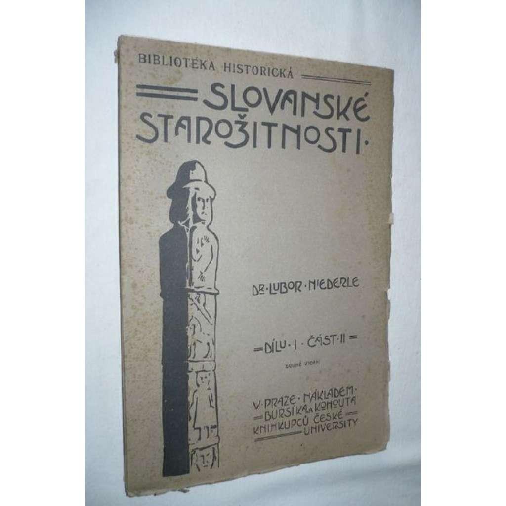 Slovanské starožitnosti, díl I., část II.