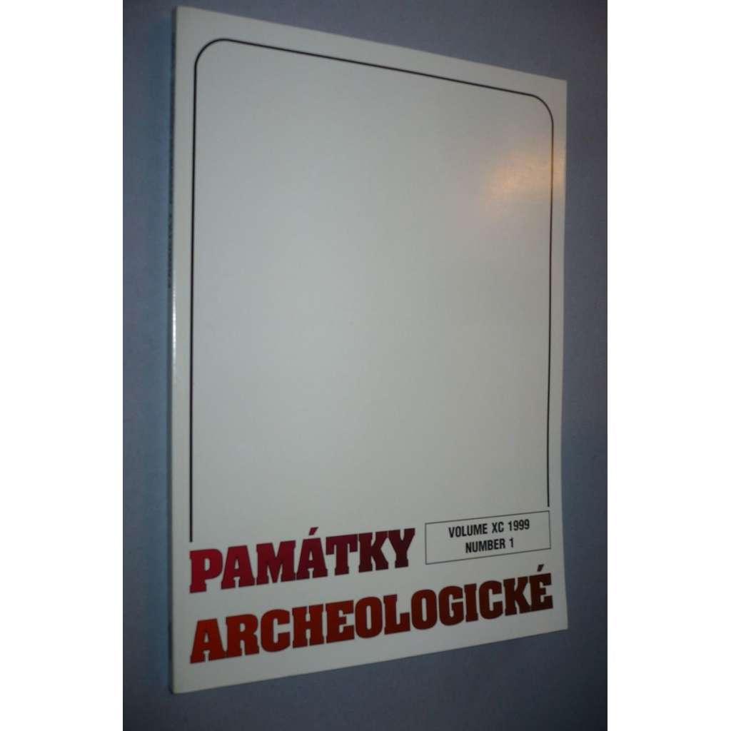 Památky archeologické 1999/1