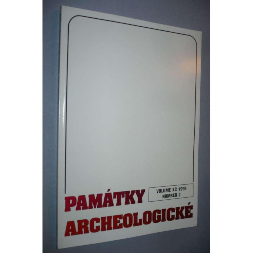 Památky archeologické 1999/2