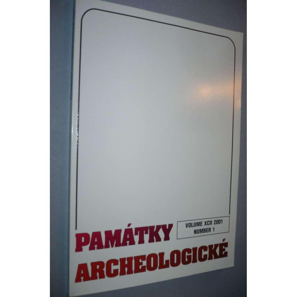 Památky archeologické 2001/1