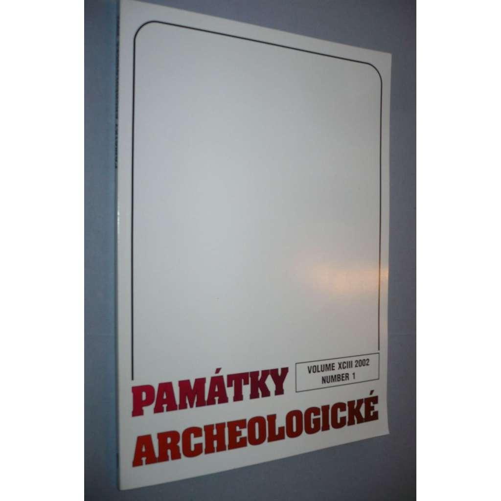 Památky archeologické 2002/1